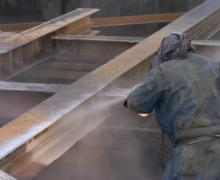 Coating to protect steel